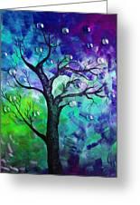 Tree Fantasy3 Greeting Card by Ramneek Narang
