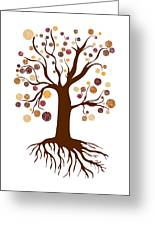Tree Greeting Card by Frank Tschakert