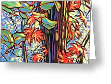Tree Long Greeting Card by Nadi Spencer