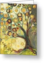 Tree Of Life In Autumn Greeting Card by Jennifer Lommers
