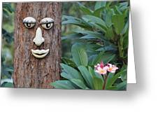 Tree Of Man Greeting Card by Fiona Allan