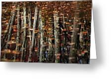 Tree  Reflect Greeting Card by Karol  Livote