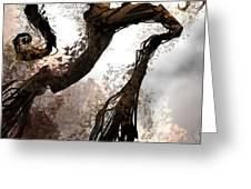 Treeman Greeting Card by Alex Ruiz
