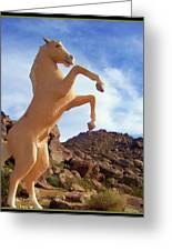 Trigger - Golden Cloud Greeting Card by Glenn McCarthy Art and Photography