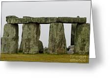 Trilithons Greeting Card by Priscilla Richardson