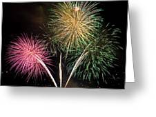 Triple Color Greeting Card by David Patterson