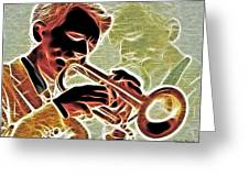 Trumpet Greeting Card by Stephen Younts