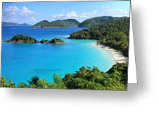 Trunk Bay St. John Greeting Card by Roupen  Baker