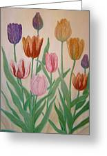 Tulips Greeting Card by Ben Kiger