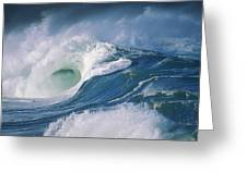 Turbulent Shorebreak Greeting Card by Vince Cavataio - Printscapes