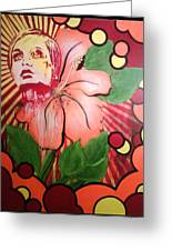 Twiggy Greeting Card by Stephen  Barry