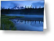 Twilight Majesty Greeting Card by Mike  Dawson