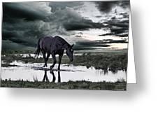 Twilight Of The Gods Greeting Card by Joachim G Pinkawa