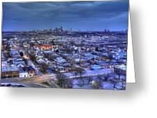Twilight On Strawberry Hill Greeting Card by Don Wolf