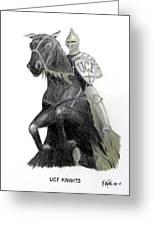 Ucf Knights Greeting Card by Frederic Kohli