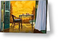 Un Caldo Pomeriggio D Greeting Card by Guido Borelli
