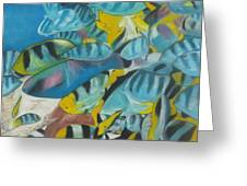 Under The Sea Greeting Card by Demitrius Roberts