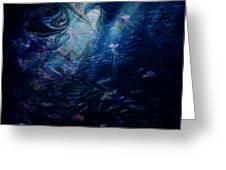 Under the Sea Greeting Card by Rachel Christine Nowicki