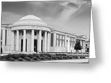 University Of Alabama Shelby Hall Greeting Card by University Icons