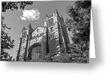 University Of Michigan Law Library Greeting Card by University Icons
