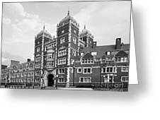 University Of Pennsylvania The Quadrangle Greeting Card by University Icons