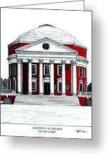 University Of Virginia Greeting Card by Frederic Kohli