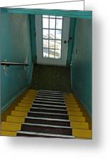 Up The Down Staircase Querbes Greeting Card by Michael Litvack