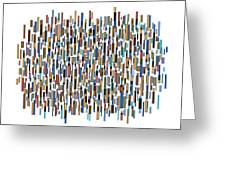 Urban Abstract Greeting Card by Frank Tschakert