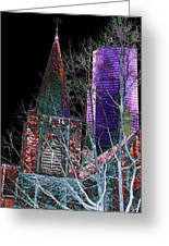 Urban Ministry Greeting Card by Tim Allen
