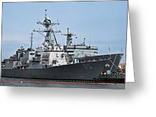 Uss James E. Williams Ddg-95 Greeting Card by Christopher Holmes