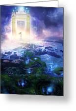 Utherworlds Passage To Hope Greeting Card by Philip Straub