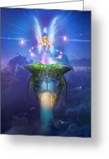 Utherworlds Stargazer Greeting Card by Philip Straub