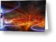 Utherworlds Waking Dream Greeting Card by Philip Straub