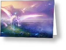 Utherworlds Winter Dawn Greeting Card by Philip Straub