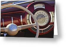 V8 Hot Rod Dash Greeting Card by Jill Reger