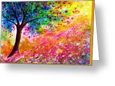 Valentine Tree Greeting Card by Ann Marie Bone