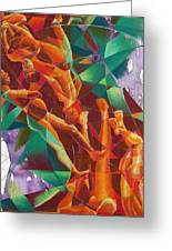 Valley Of Abstraction Greeting Card by Ken Meyer jr