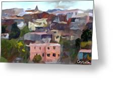 Valparaiso - Chile Greeting Card by Carlos Camus