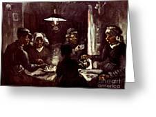 Van Gogh: Meal, 1885 Greeting Card by Granger