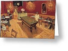 Van Gogh Night Cafe 1888 Greeting Card by Granger