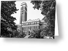 Vanderbilt University Kirkland Hall Greeting Card by University Icons