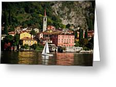 Varenna Approach Greeting Card by Chuck Parsons