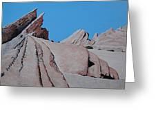 Vasquez Rocks 4 Greeting Card by Stephen Ponting