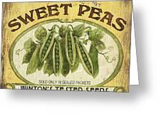 Veggie Seed Pack 1 Greeting Card by Debbie DeWitt