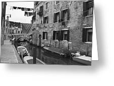 Venice Greeting Card by Frank Tschakert