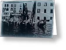 Venice Greeting Card by Naxart Studio