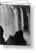 Victoria Falls - C 1911 Greeting Card by International  Images