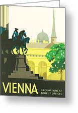 Vienna Greeting Card by Georgia Fowler