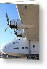 Vintage Boac British Overseas Airways Corporation Speedbird Flying Boat . 7d11289 Greeting Card by Wingsdomain Art and Photography