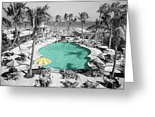 Vintage Miami Greeting Card by Andrew Fare